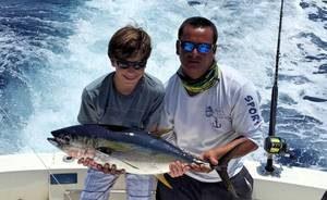 pic rezise of yellow fin tuna