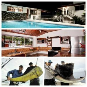 fishing charters and villa rental manuel antonio costa rica