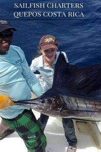 sailfishing charters quepos costa rica