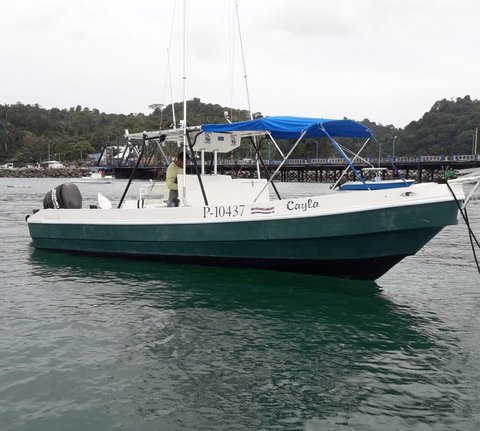 26 ft apex boat quepos costa rica